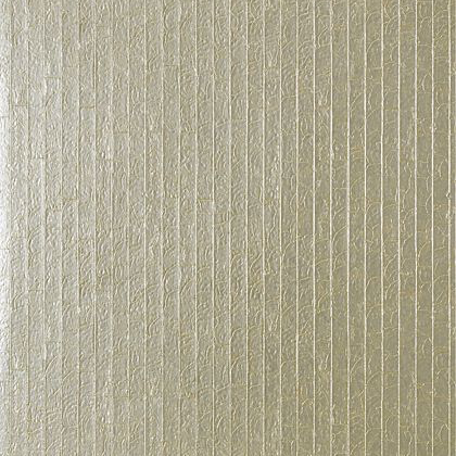 Thibaut Mother of Pearl Wallpaper in Metallic Silver