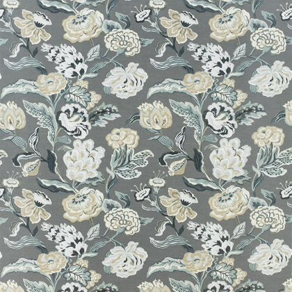 Thibaut Navesink Fabric in Grey