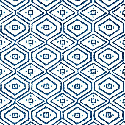 Thibaut Pass-a-Grille Wallpaper in Navy