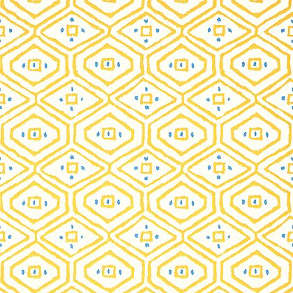 Thibaut Pass-a-Grille Wallpaper in Yellow