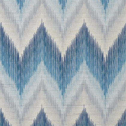 Thibaut Piedmont Wallpaper in Blue