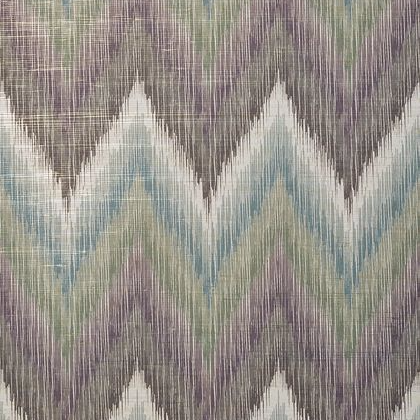 Thibaut Piedmont Wallpaper in Eggplant and Charcoal
