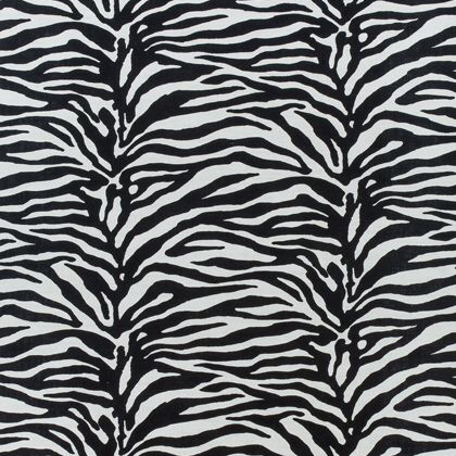 Thibaut Serengeti Fabric in Black and White