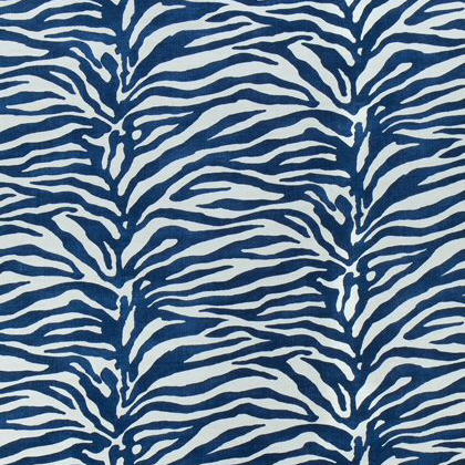 Thibaut Serengeti Fabric in Navy
