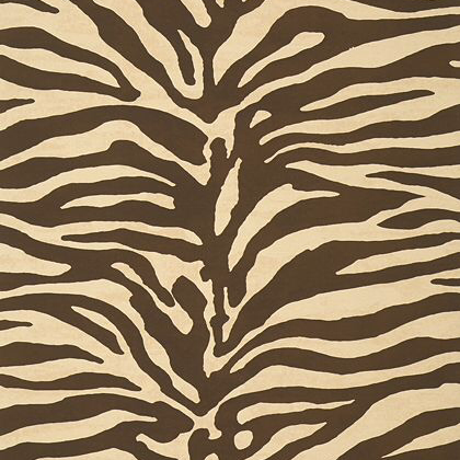 Thibaut Serengeti Wallpaper in Brown