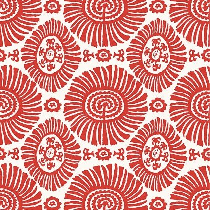 Thibaut Solis  Wallpaper in Coral