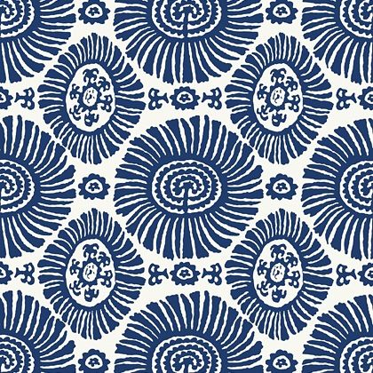 Thibaut Solis  Wallpaper in Navy