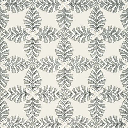 Thibaut Starleaf  Wallpaper in Grey