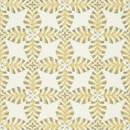 Thibaut Starleaf  Wallpaper in Yellow