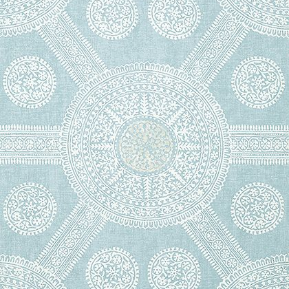 Thibaut Stonington Wallpaper in Spa Blue