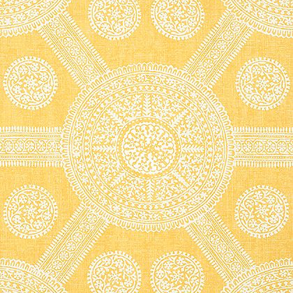 Thibaut Stonington Wallpaper in Yellow