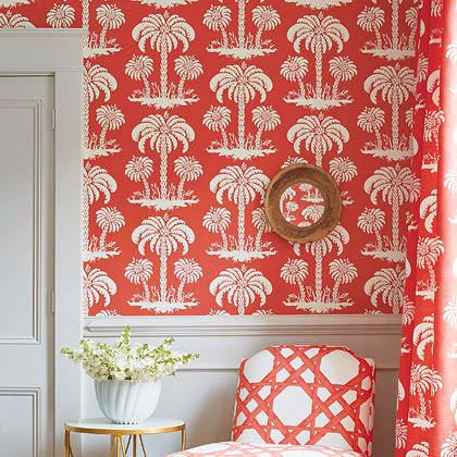 Thibaut Summer House Wallpaper